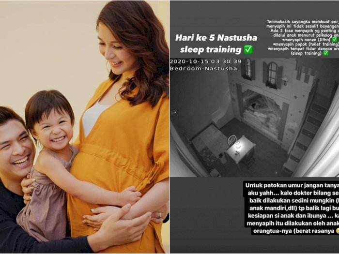 Jelang Lahiran, Chelsea Olivia Ajarkan Sleep Training Pada Nastusha: Berat Rasanya