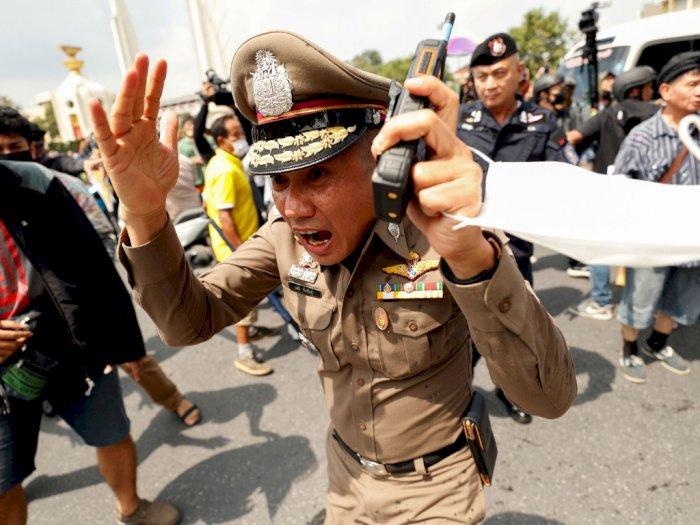 Bentrok Gulingkan Rezim Militer, Thailand Pakai Dekrit Darurat Tangkapi Pemimpin Demo