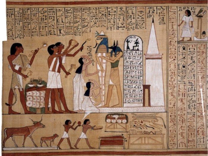 Buku Catatan Kematian Hunefer dari Peradaban Mesir Kuno