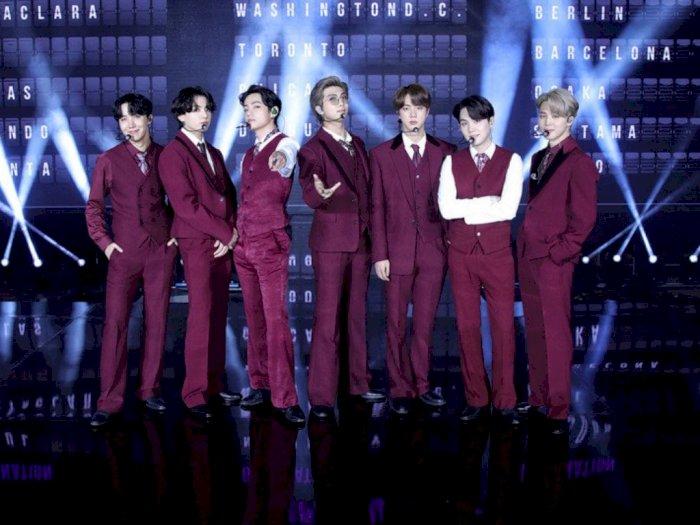 BTS Berhasil Tampil Memukau di Panggung Billboard Music Awards