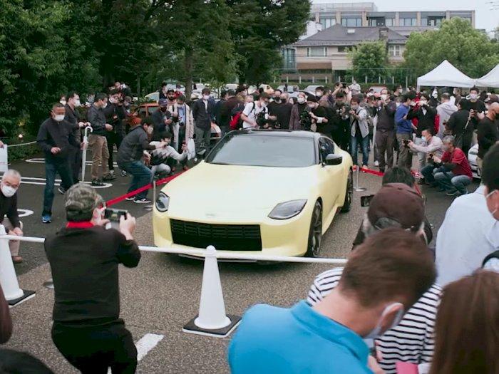 Reaksi Masyarakat Jepang Usai Melihat Nissan Z Proto Secara Langsung!