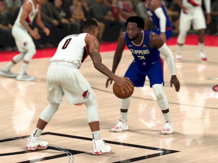 NBA 2K21 Manfaatkan DualSense PS5 untuk Simulasikan Seberapa Lelah Pemain Mereka
