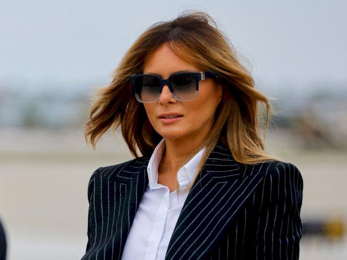 Setelah Donald Trump, Kini Melania  Trump dan Putranya Juga Negatif Covid-19