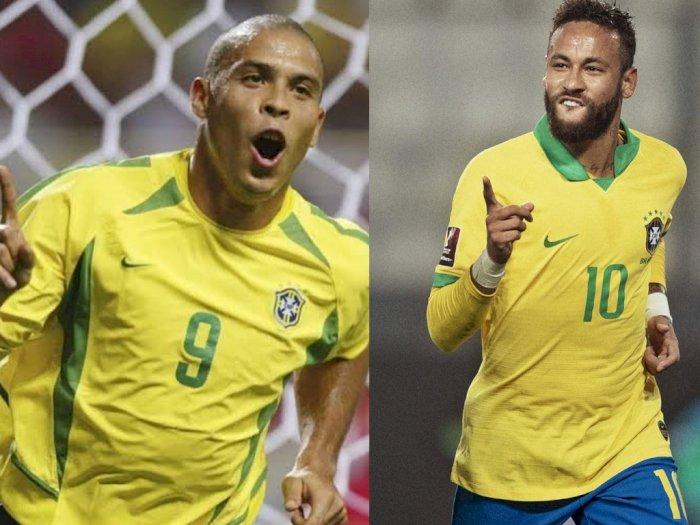 Ronaldo Apresiasi Rekor Baru Neymar untuk Brazil