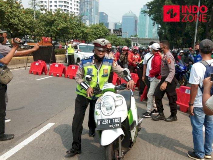 Dari 69 Motor Diamankan Pasca Rusuh Demo Jakarta, 25 Diantaranya Sudah Diambil