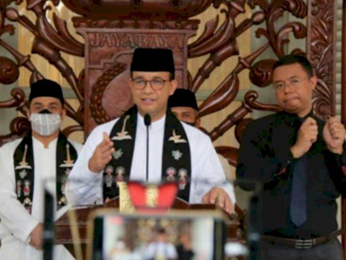 Dinilai Belum Harmonis dengan Pusat, PDIP DKI: Hanya Anies, Gubernur Lain Tidak Begitu