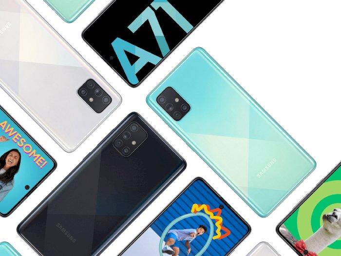 Samsung Gulirkan Update One UI 2.5 untuk Smartphone Galaxy A71!