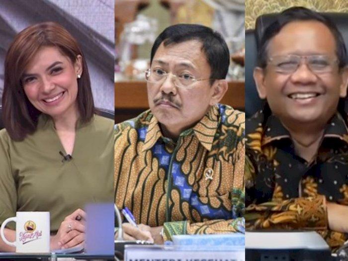 Mahfud MD Sindir Wawancara Kursi Kosong, Najwa Shihab Titip Salam Buat Menteri Terawan