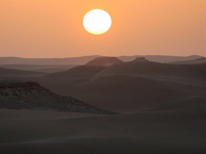 FOTO: Mesir Menerima 300.000 Wisatawan Sejak Juli