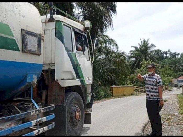 Jembatan Bandar Pulo Mau Roboh, Dikhawatirkan Berdampak pada Kawasan Wisata Tangkahan