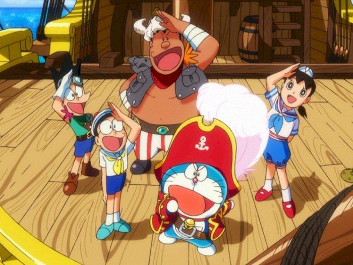Doraemon The Movie Nobita Treasure Island 2018 Perjalanan Menuju Pulau Harta Karun Indozone Id