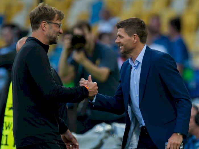 Liverpool Diingatkan Tak Perlu Buru-Buru Panggil Gerrard untuk Gantikan Klopp