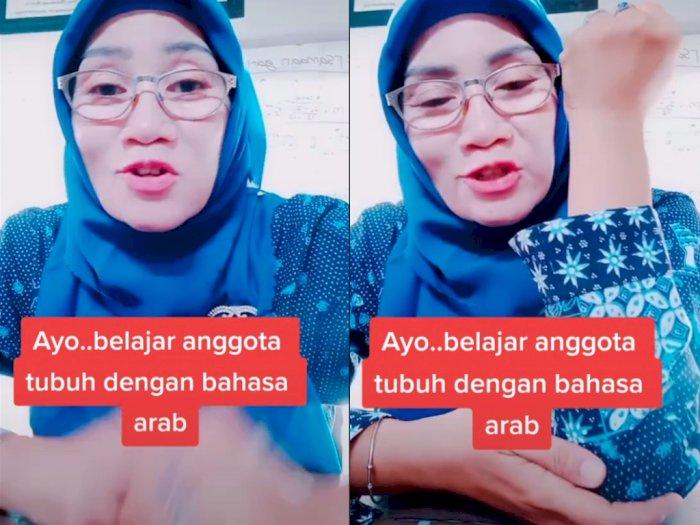 Ibu Guru ini Ajarkan Bahasa Arab Sambil Nyanyi, Bikin Netizen Nostalgia