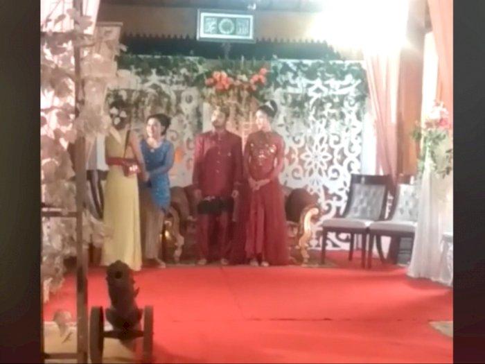 Wanita Nangis saat Hadiri Nikahan Mantan, Pengantin Pria Malah Kejar Mantannya