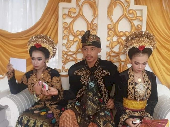 Geger Cowok Lombok Nikahi 2 Wanita, Netizen Malah Berdebat Soal Malam Pertama