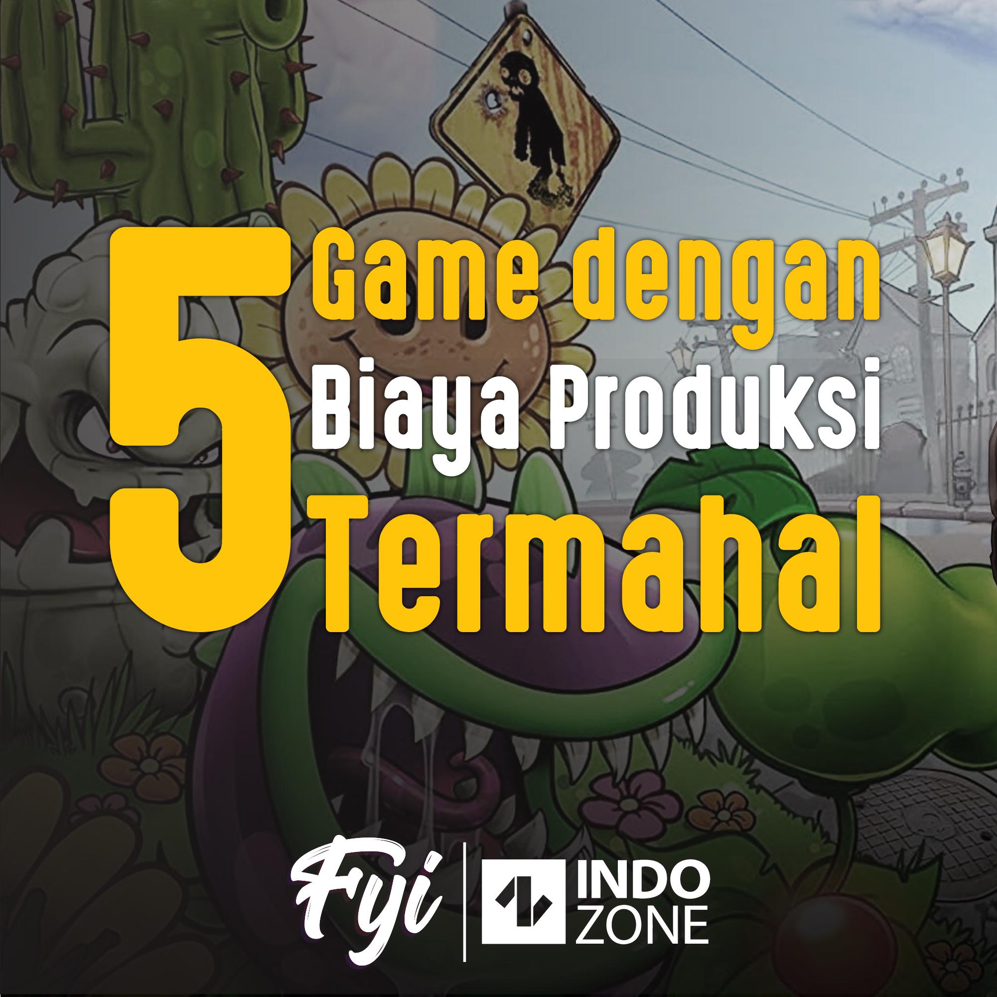 5 Game dengan Biaya Produksi Termahal