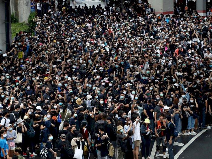 Tuntut Mundurnya Perdana Menteri, Demonstran Thailand Bersumpah Akan Tetap Turun ke Jalan