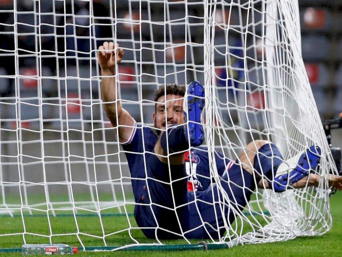 FOTO: Liga Prancis, PSG Bantai Tuan Rumah Nimes 4-0