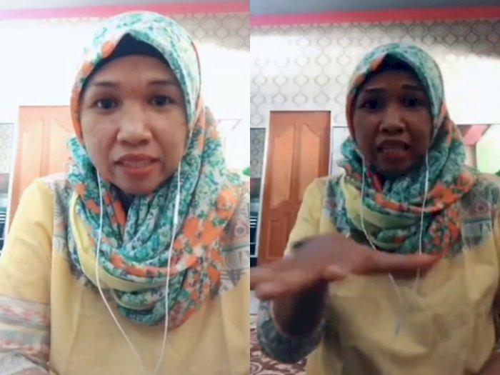 Gokil! Ibu ini Jago Ngerap Lagu Kera Sakti, Bikin Netizen Kagum