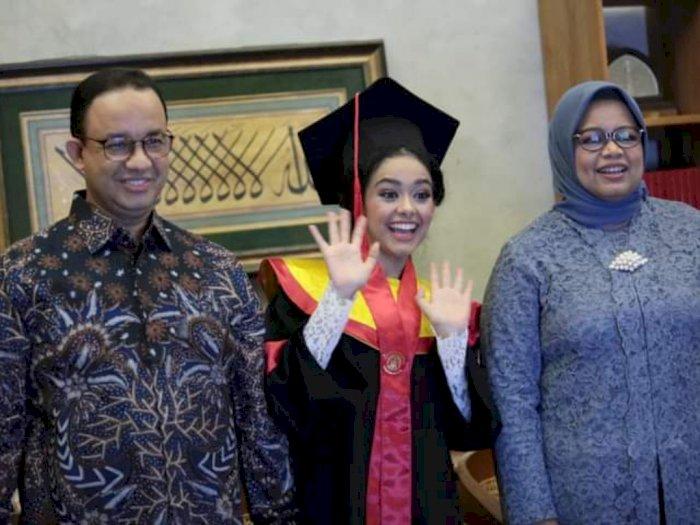 Kebahagiaan Anies Baswedan, Putri Sulung Berhasil Sabet Gelar Sarjana Hukum: Anaknya Abah