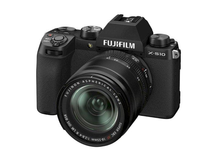 Fujifilm Luncurkan Kamera X-S10 dengan In-Body Stabilization