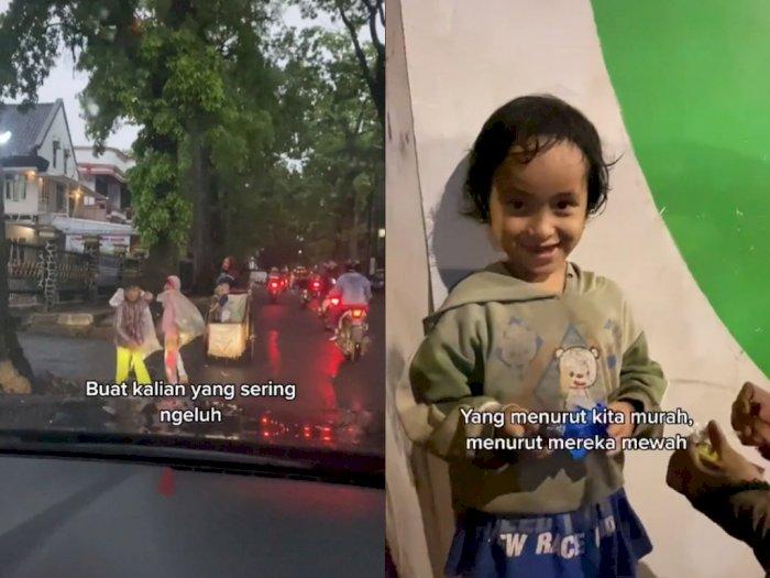 Bikin Salut! Pria ini Sisihkan Uangnya Untuk Berbagi Kepada Anak-anak di Jalanan