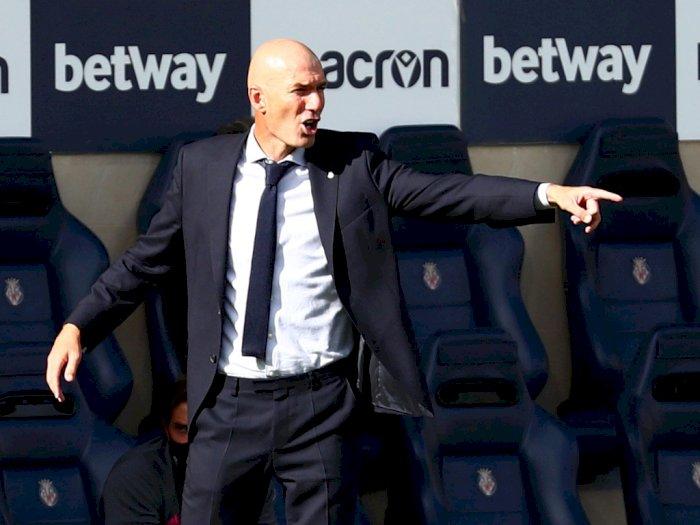 Ini Kata Zidane Pasca Madrid Dipermalukan Tim Promosi, Cadiz