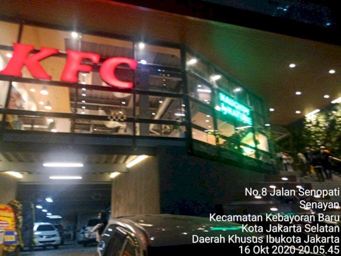 Sempat Viral, KFC Baru di Senopati Ditutup karena Langgar Aturan PSBB