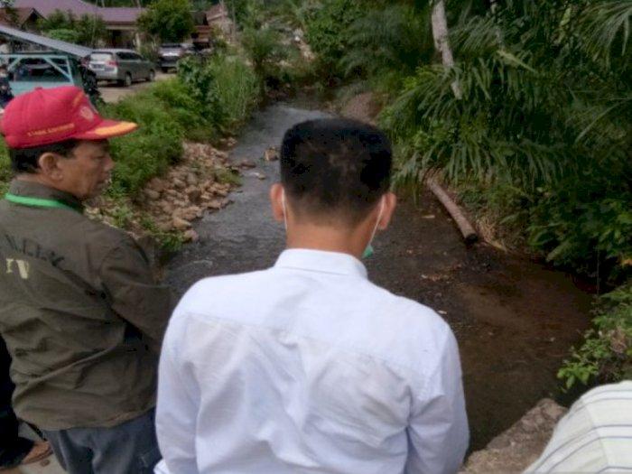 Tak Ingin Lagi Ada Banjir, Tapsel Pasang Bronjong di Sepanjang Sungai Batu Godang