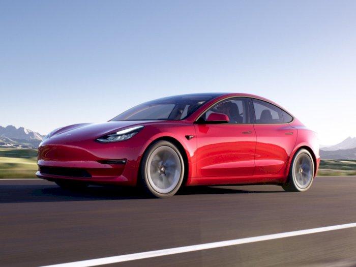 Tesla Model 3 Dapatkan Perubahan Desain dari Luar dan Dalam!