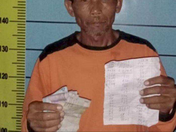 Pensiunan Perkebunan di Simalungun Ditangkap Polisi, Rupanya Jadi Tukang Rekap Judi KIM