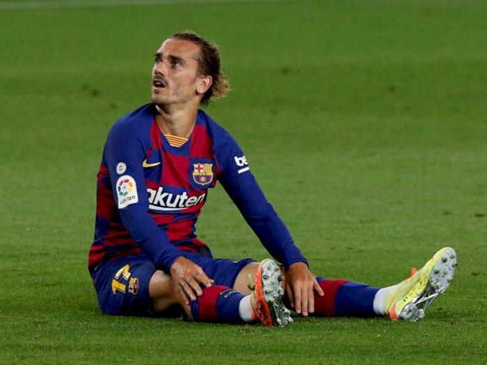 Rivaldo pada Griezmann: Dia Sudah Cukup Baik untuk Barca, Hanya Butuh Waktu