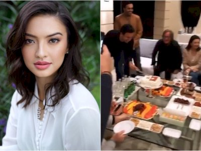 Duduk di Sebelah Ayah Gigi Hadid Saat Pesta Ultah, Raline Shah Bikin Netizen Heboh
