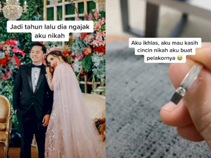 Istri Ini Kembalikan Cincin Nikahnya Pada Suami Untuk 'Pelakor'