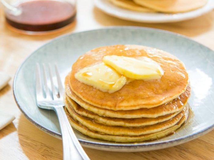 Resep Pancake Buttermilk Lembut untuk Menu Sarapan Kamu