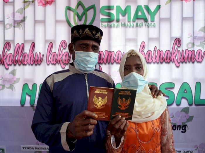 FOTO: Nikah Massal Muslim Asli Papua