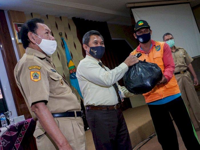 FOTO: Program Sosial Paket Sembako Bank Indonesia Tegal