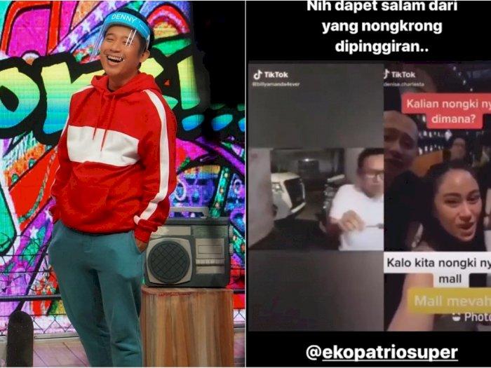 Viral Video Cewek Pamer Kekayaan Nongkrong di Mal, Denny Cagur: Dapat Salam dari Pinggiran