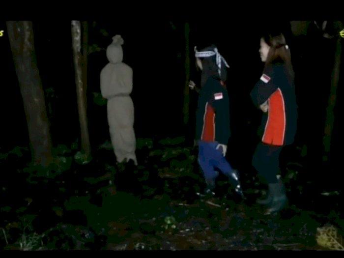 Viral Penampakan Pocong di Hutan, Ditoyor-toyor Tak Berkutik, Netizen Salfok ke Kain Kafan