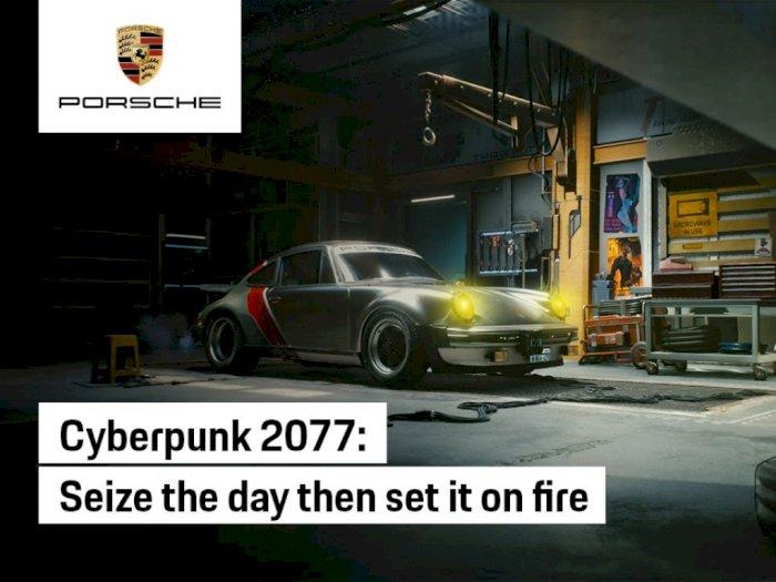 Porsche 930 Turbo 1977 Jadi Mobil 'Asli' Satu-Satunya di Cyberpunk 2077