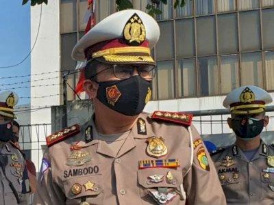 Antisipasi Unjuk Rasa, Polda Metro Jaya Mulai Tutup Sebagian Jalan Merdeka Barat
