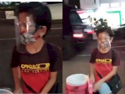 Luar Biasa, Bocah ini Tetap Semangat Berjualan Es Lilin Pakai Sepeda Meski Sudah Malam