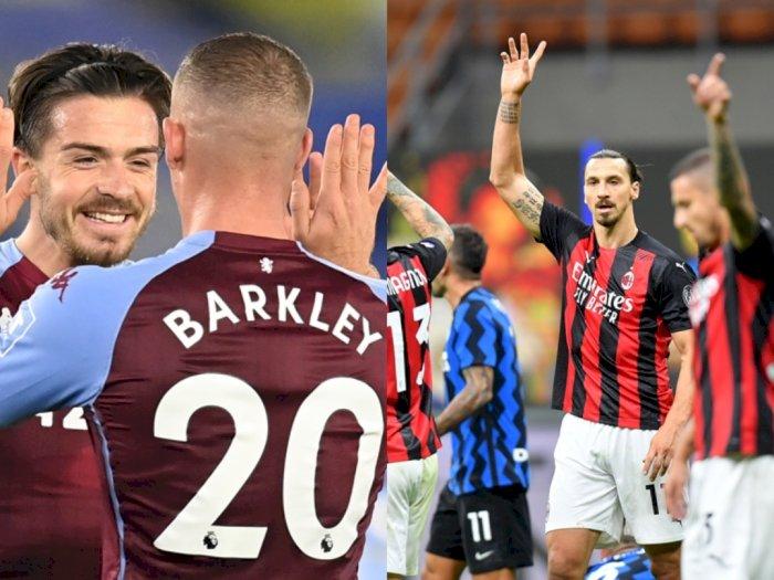 Aston Villa dan AC Milan Adalah Tim Sempurna Awal Musim Ini