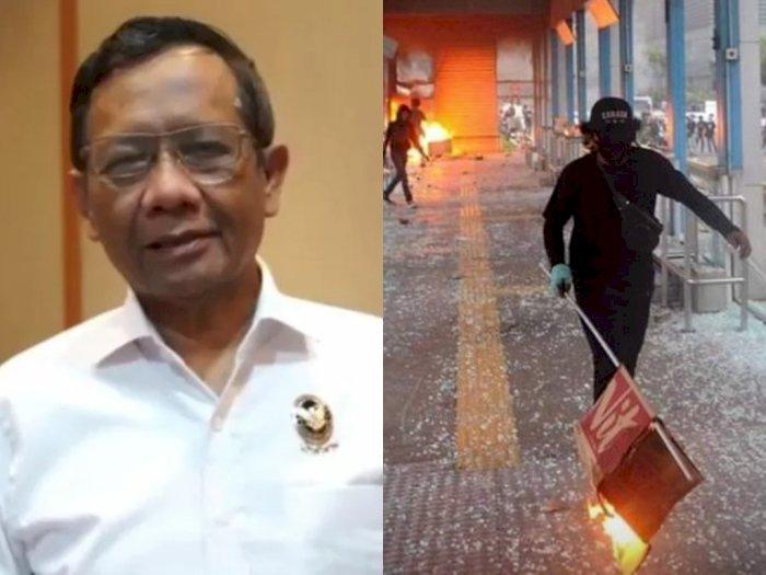 Cegah Demo Ricuh, Mahfud MD Ingatkan Pengunjuk Rasa: Hati-hati Jangan Sampai Ada Penyusup