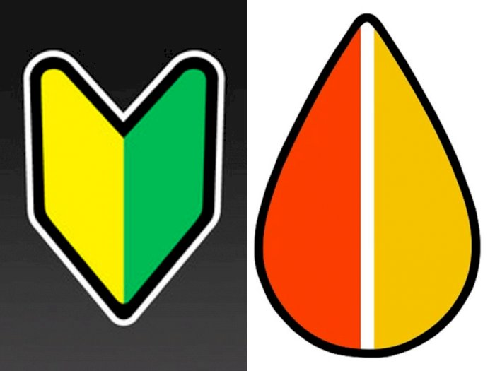 Simbol Unik sebagai 'Peringatan' yang Menempel di Mobil Jepang