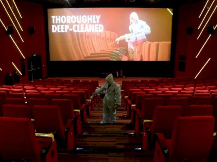 Dibuka Besok, Para Pengunjung Bioskop Jakarta Wajib Pakai Masker dan Jaga Jarak