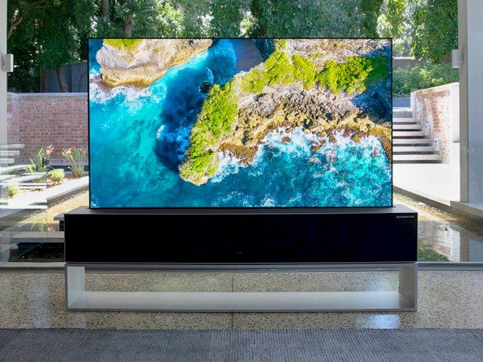 TV OLED Gulung Buatan LG Ini Sudah Bisa Dibeli, Tapi Siapkan Rp1,2 Miliar Dulu Ya!