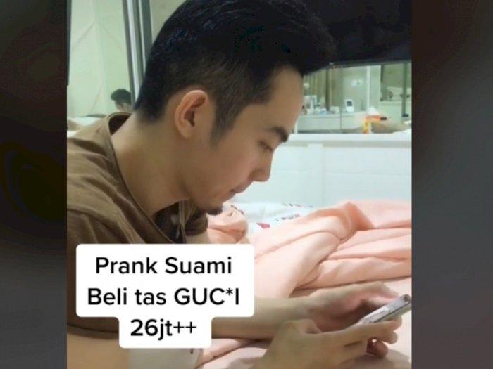 Viral Istri Prank Suami Beli Tas Gucci Seharga Rp26 Juta, Reaksi Suami di Luar Dugaan