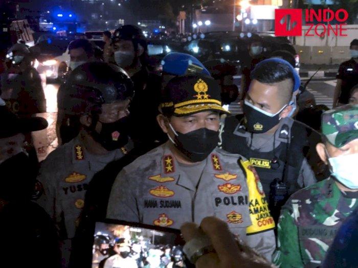Massa Demo di Patung Kuda Jakarta Bubar, Kabareskrim Pantau Langsung