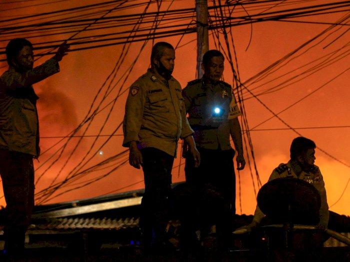 FOTO: Kebakaran Permukiman di Jayapura